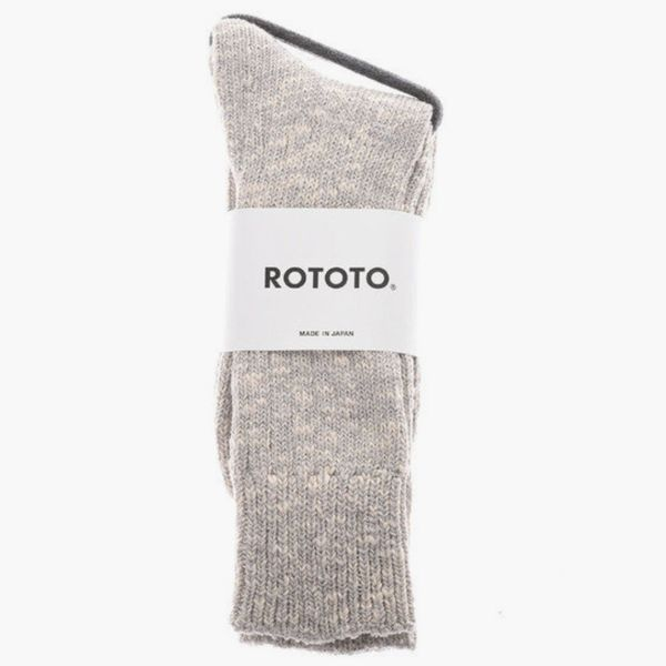 Rototo Low Gauge Slub Crew Socks