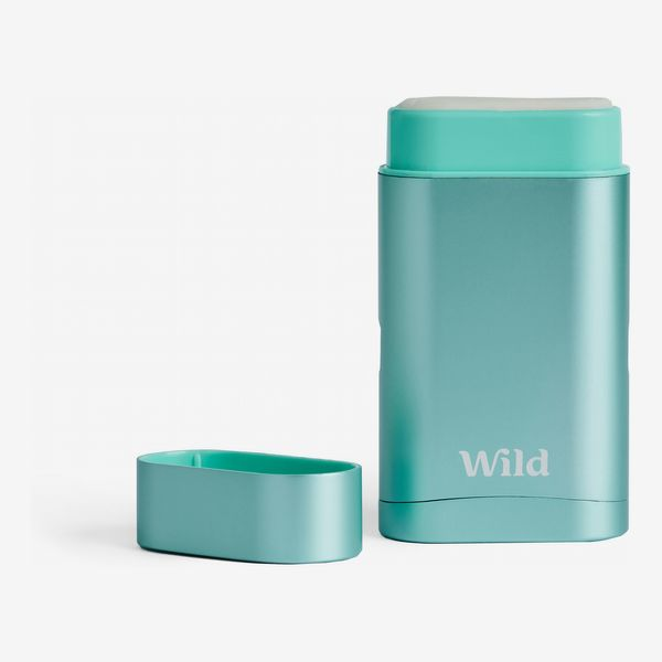 Wild Natural Deodorant (One Refillable Case And Three Refills)