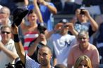 NEW YORK, NY - JULY 09:  Derek Jeter #2 of the New York Yankees waves to the fans after a game in which he hit his 3000th career hit while playing against the Tampa Bay Rays at Yankee Stadium on July 9, 2011 in the Bronx borough of New York City.  (Photo by Michael Heiman/Getty Images)