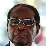 Zimbabwean President Robert Mugabe looks on during his inauguration ceremony in Harare on August 22, 2013 at the National 60,000-seat sports stadium. Veteran leader Robert Mugabe was sworn in as Zimbabwe's president for another five-year term before a stadium packed with thousands of jubilant supporters on August 22. The swearing-in had been delayed after opposition leader Morgan Tsvangirai challenged the election results in a petition to the constitutional court and then later withdrew it.