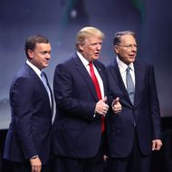Top Political Leaders Attend NRA Annual Meeting In Louisville