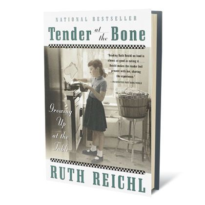 "At this point, you could very well consider Ruth Reichl's <a href=""https://twitter.com/ruthreichl"">poetic Twitter feed</a> its own kind of amazing food memoir. But of her printed works, her 1998 memoir, <i>Tender at the Bone</i> (published when she was still the critic at the New York <i>Times</i>) is most deserving of a spot here. As with the best food memoirs, it's the joy of discovery — of new foods, new people, new ways of living — that makes <i>Tender</i> so compelling."
