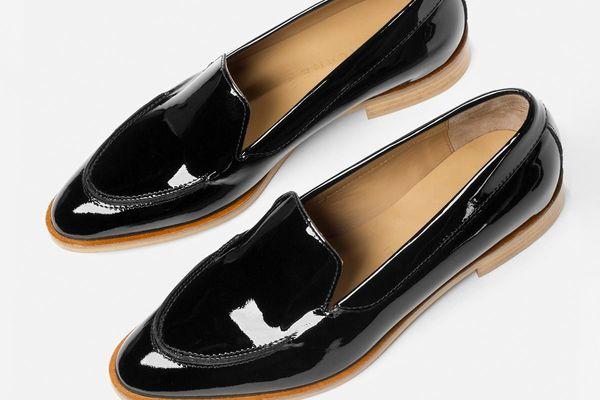 Everlane Modern Loafer, Black Patent