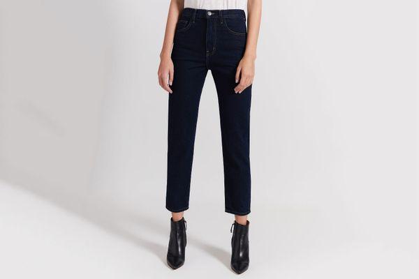 Current Elliott The Vintage Slim Cropped Jeans