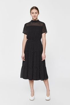 Stelen Mia Polka Dot Midi Dress