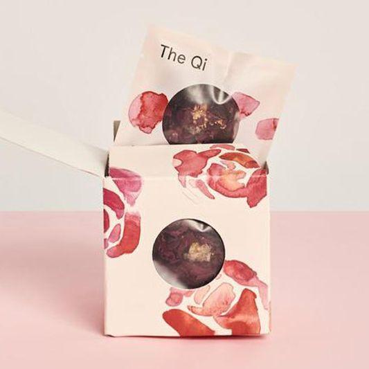 The Qi Shangri-La Rose Tea (Pack of Nine)