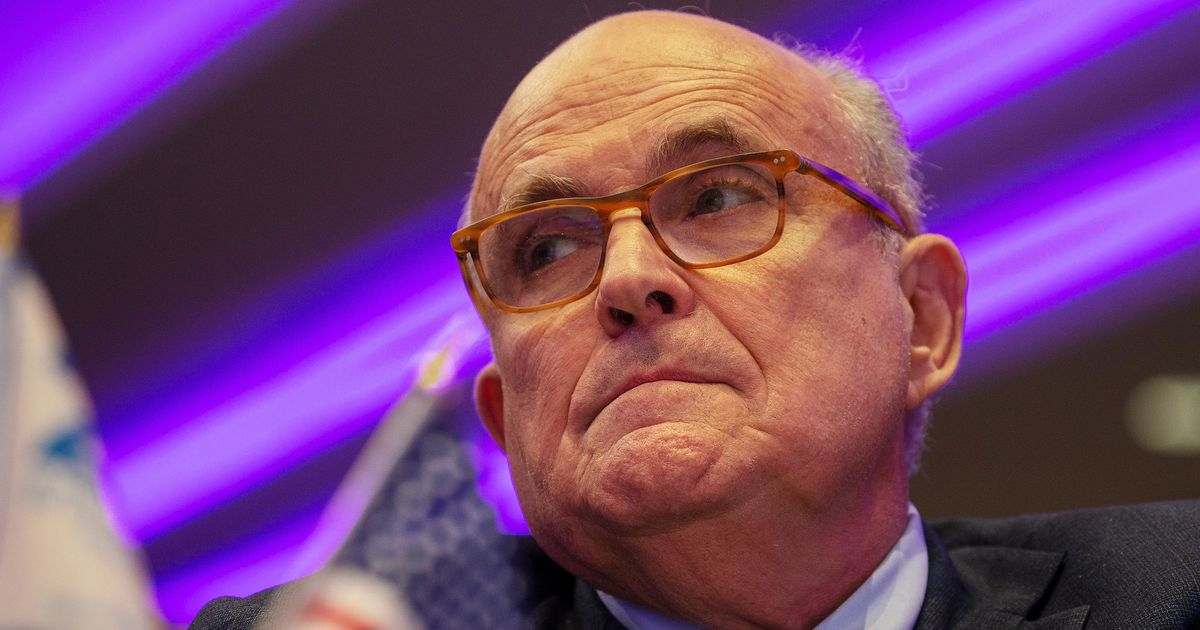 A Fourth Associate of Rudy Giuliani Has Been Arrested