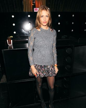 Charlotte Ronson attends the Charlotte Ronson Fall 2012 After Party at 1 Oak on February 10, 2012 in New York City.