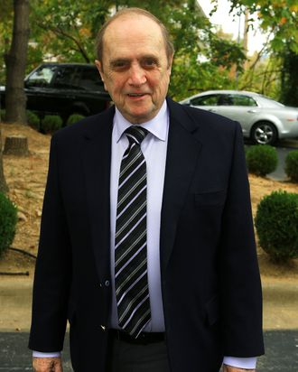 Comedian Bob Newhart attends a memorial service for entertainer Andy Williams on October 21, 2012 in Branson, Missouri. Williams died on September 25, 2012 at the age of 84 after battling bladder cancer.