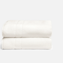 Brooklinen Super-Plush Bath Towels, Set of 2
