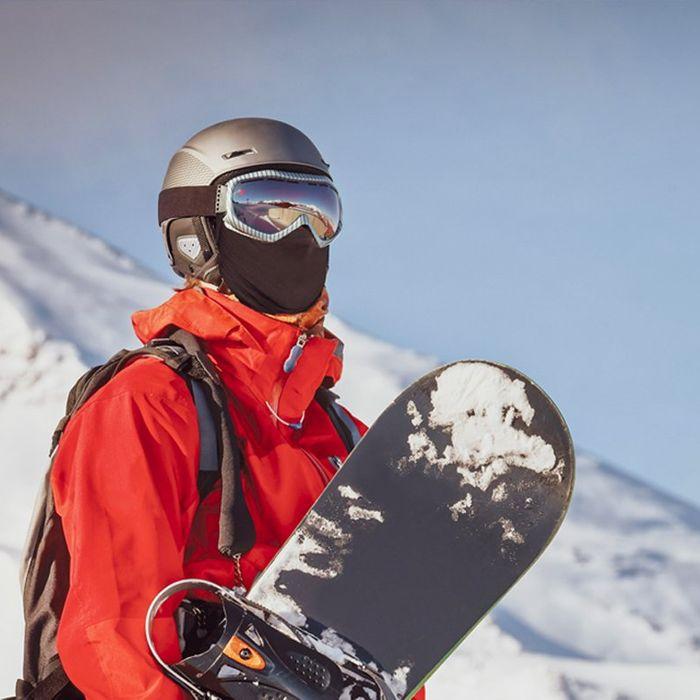 Balaclava Face Mask Windproof Neck Warmer Fleece Winter Skiing Snowboarding Men