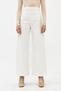 Jesse Kamm Sailor Pant in Salt White