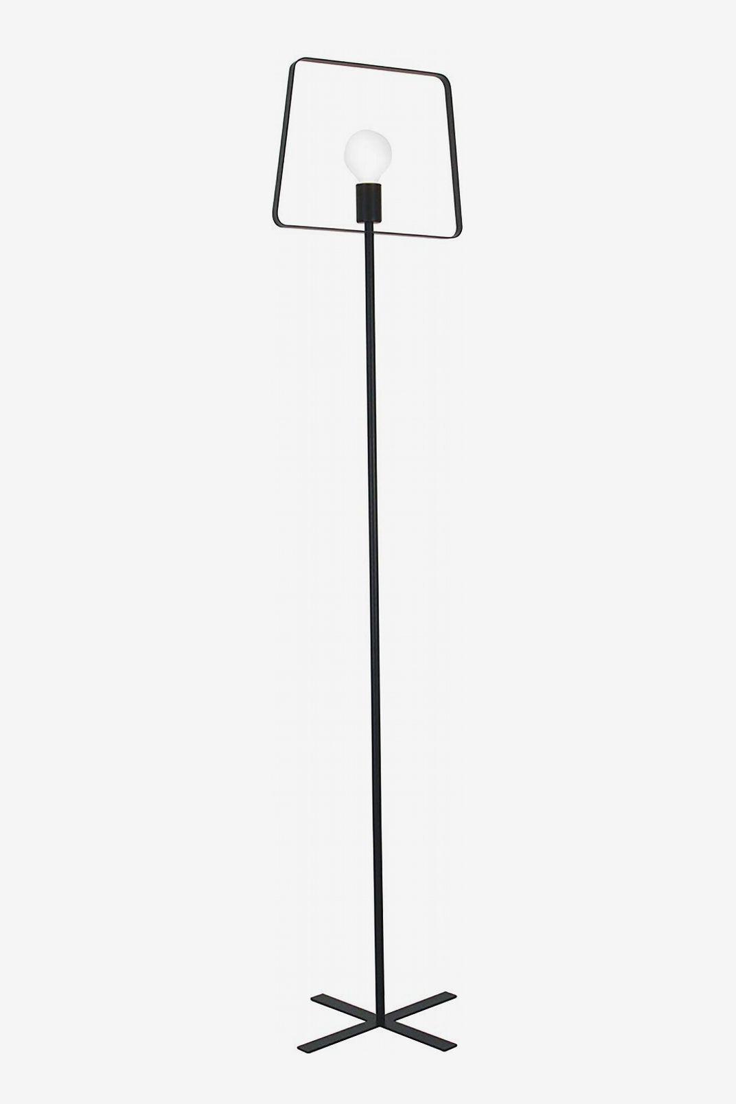 La Jolie Muse Black Industrial Design Uplight Lamp