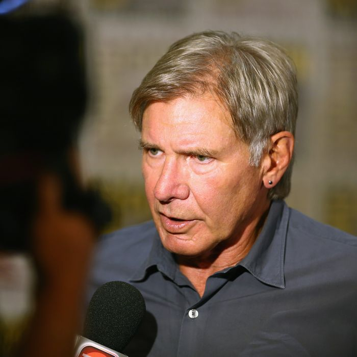 SAN DIEGO, CA - JULY 18: Actor Harrison Ford attends