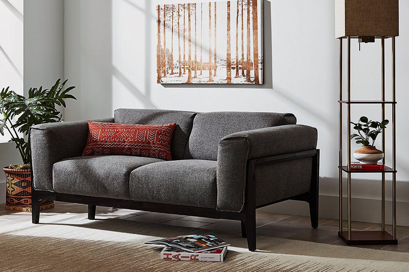 Rivet Apex Oversized Cushion Modern Sofa