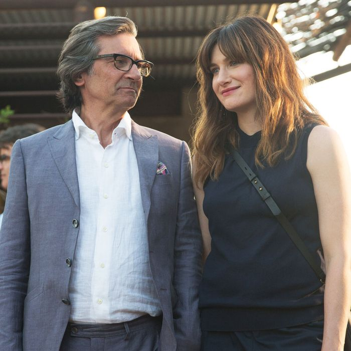 Griffin Dunne and Kathryn Hahn in I Love Dick, which was canceled by Amazon  this week. Photo: Patrick Wymore