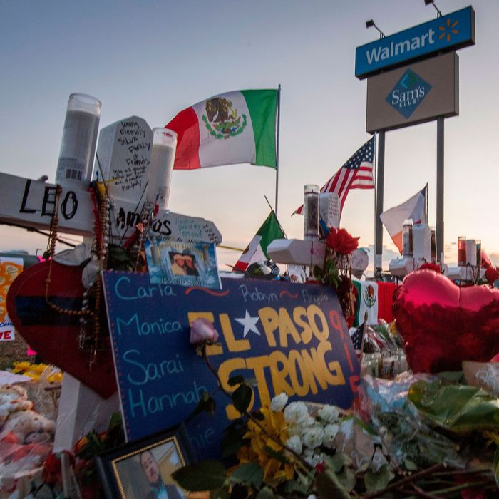 Scenes from a vigil to the 22 people killed by gunman Patrick Crusius in El Paso last year.
