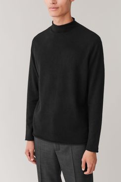 COS Cashmere Mockneck Sweater