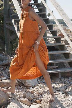 Maeve Marya Tiered Maxi Dress