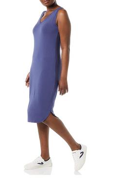 Daily Ritual Women's Jersey Sleeveless V-Neck Midi Dress