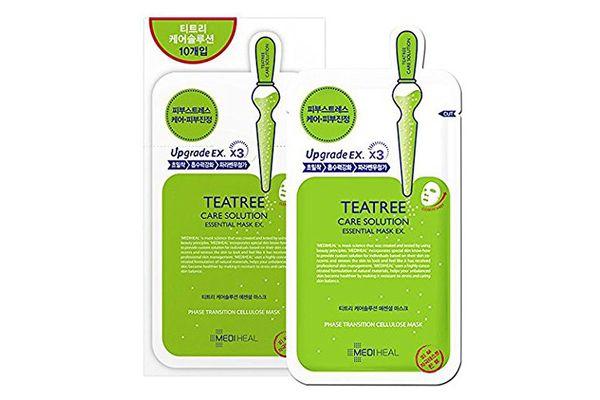 Mediheal Tea Tree Essential Blemish Control Sheet Mask (10 Masks)