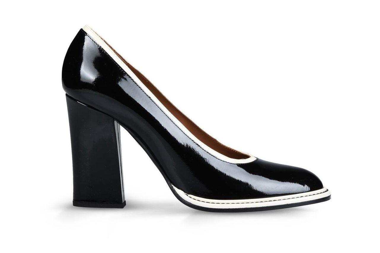 Emporio Armani Patent Court Shoe