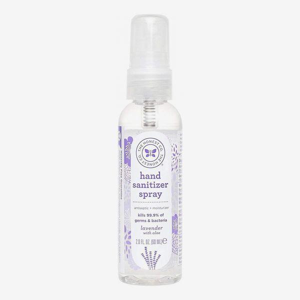 Honest Hand Sanitizer Spray, Lavender with Aloe, 2 Ounce