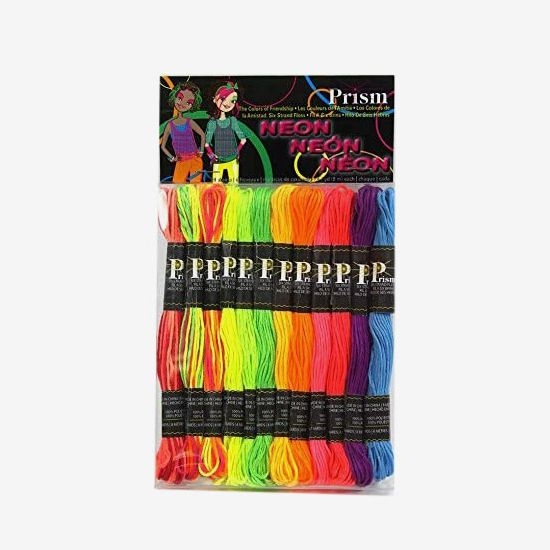 DMC Prism-NEON Prism 6-Strand Floss Pack