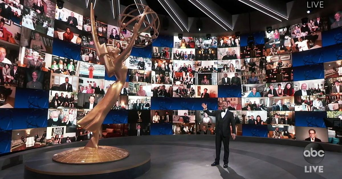The Highs, Lows, and Hmms of the Mostly at Home Emmys