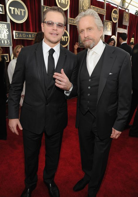Photo 25 from Matt Damon, Michael Douglas