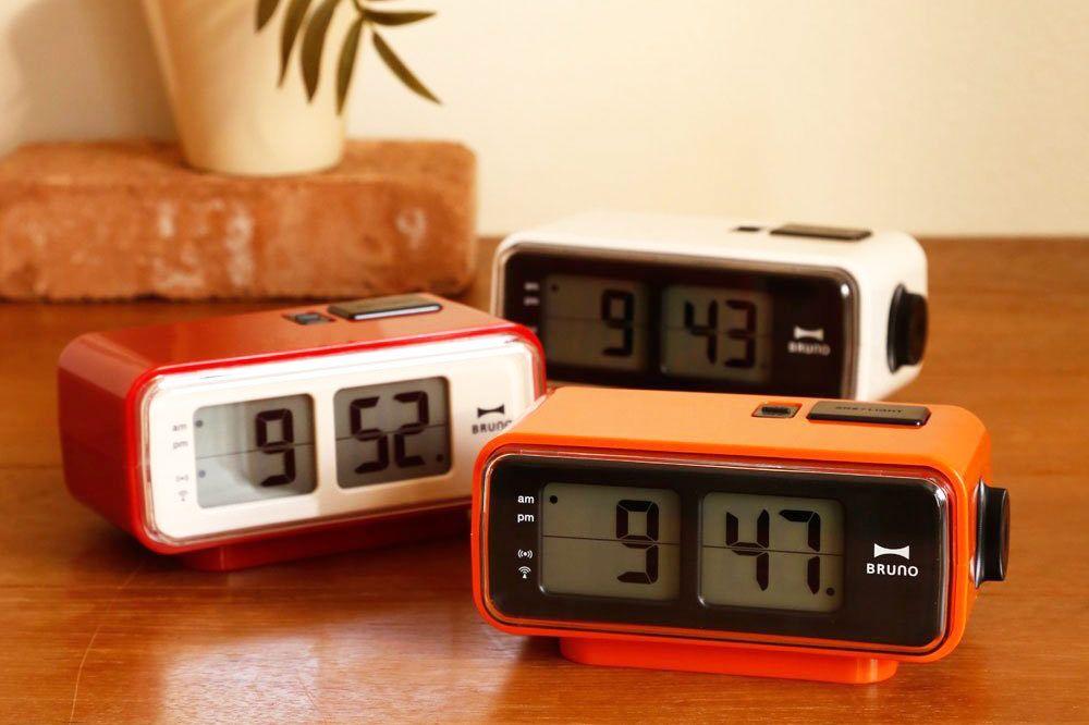 Idea International Retro Digital Flip Desk Alarm Clock