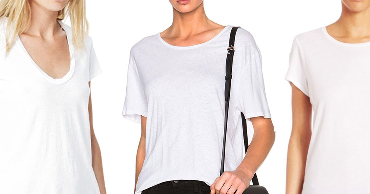 What s the best white t shirt for Who makes the best white t shirts