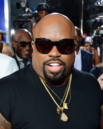 Actor/recording artist Cee-Lo arrives at Tri-Star Pictures'