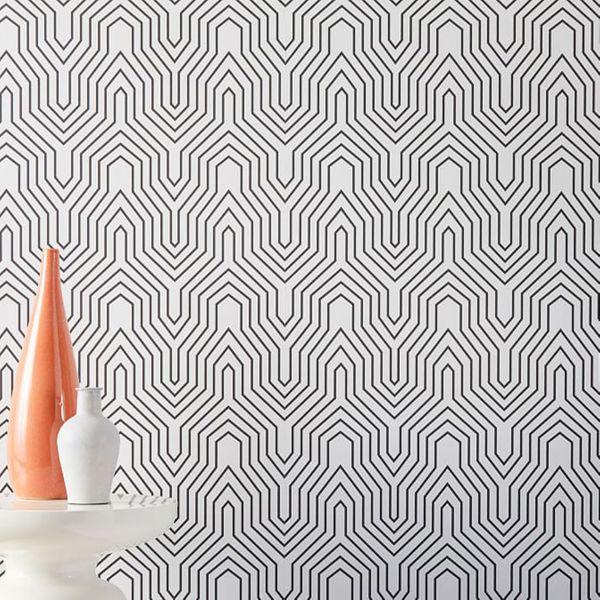 Drop It MODERN Labyrinth Wallpaper