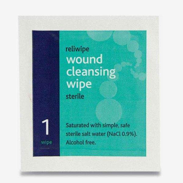 Reliwipe Sterile Wound Cleansing Wipes