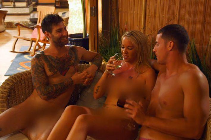 Scene from <em>Dating Naked</em>.
