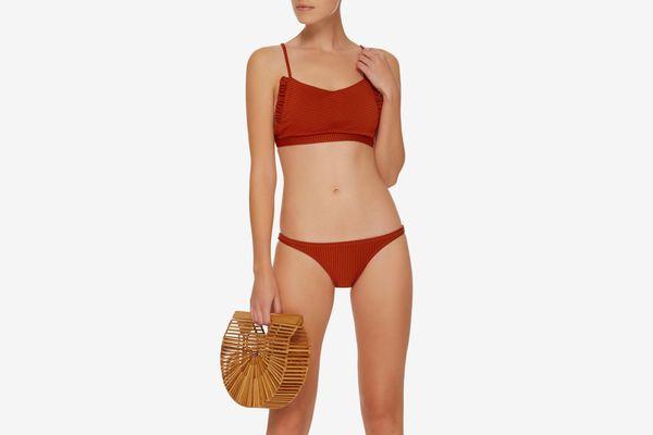 Made by Dawn Feline Lattice Bikini Top