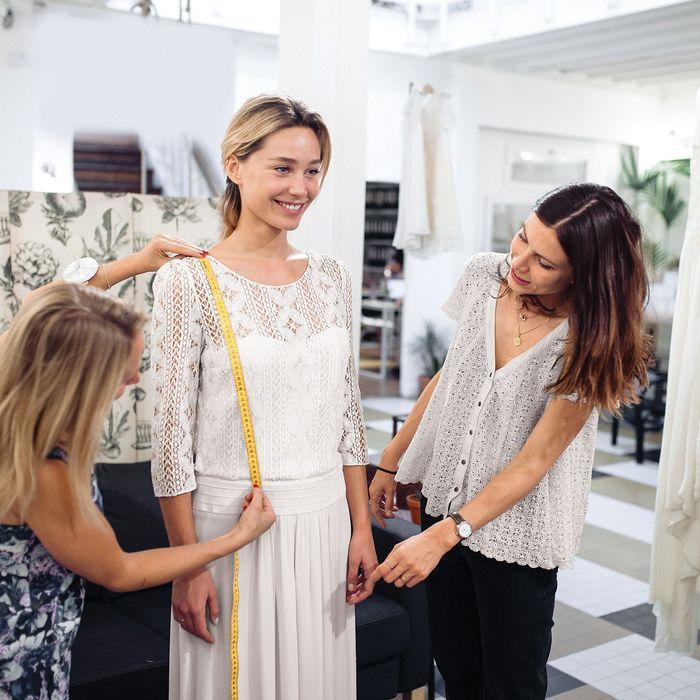 Laure De Sagazan, Wedding Dress Designer, on Custom Gowns