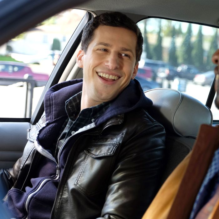 BROOKLYN NINE-NINE: L-R: Andy Samberg and Terry Crews in the