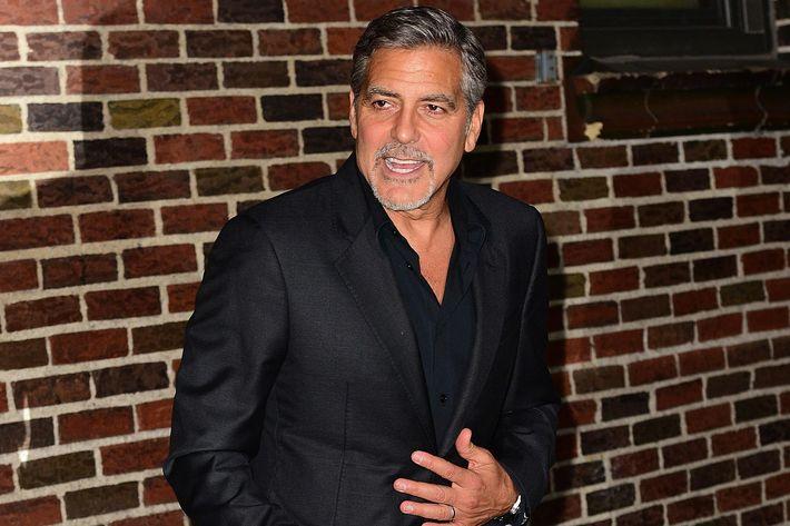 Italian for Mr. Clooney.