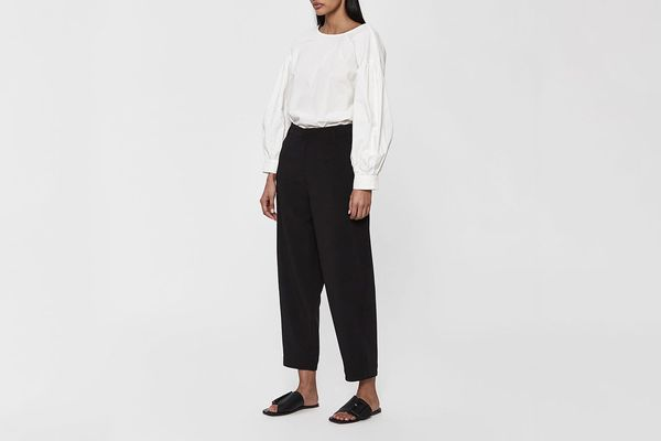 Mijeong Park Volume Cropped Pant