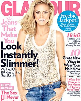 <em>Glamour</em>'s August issue.
