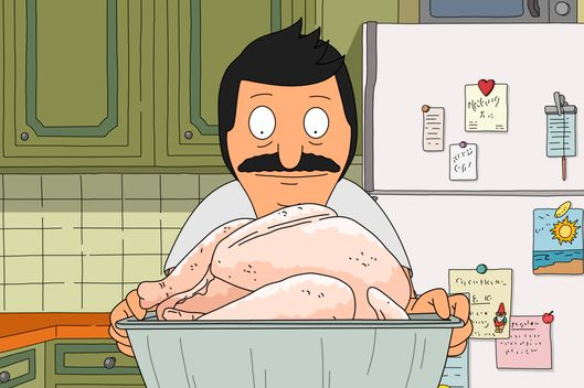 "BOB'S BURGERS: Bob spends time bonding with his star of the Belcher Thanksgiving in the all-new ""Gayle Makin' Bob Sled"" airing Sunday, Nov. 8 (7:30-8:00 PM ET/PT) on FOX.  BOB'S BURGERS ™ and © 2014 TCFFC ALL RIGHTS RESERVED"