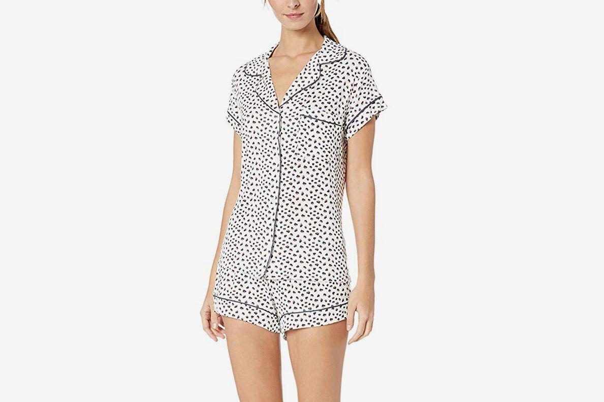 482804682 Soft pajamas and robes. Eberjey Sleep Chic Short PJ Set