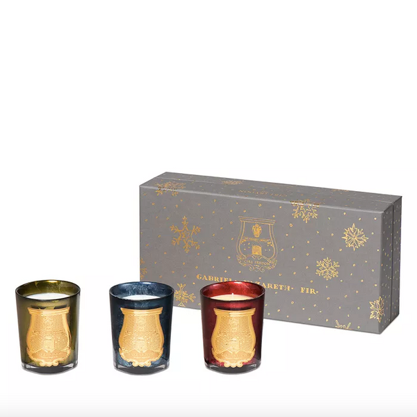 Cire Trudon Holiday Candle Gift Set