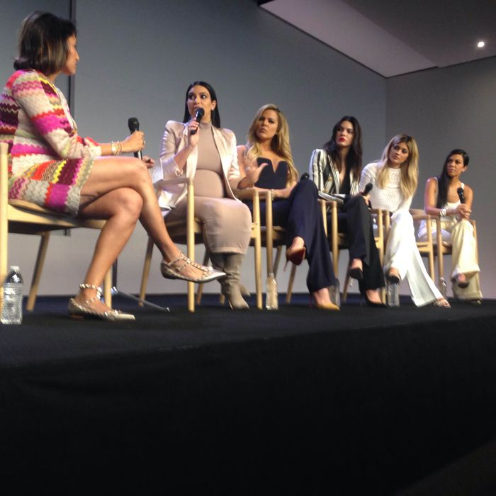 The Kardashian-Jenners appeared in one room together and the world did not implode.