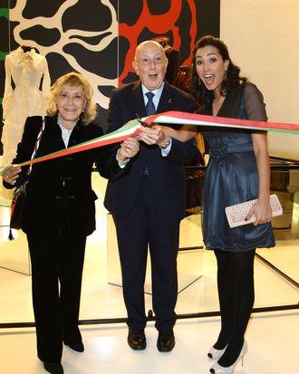 Camera Nazionale della Moda Italiana head Mario Boselli.