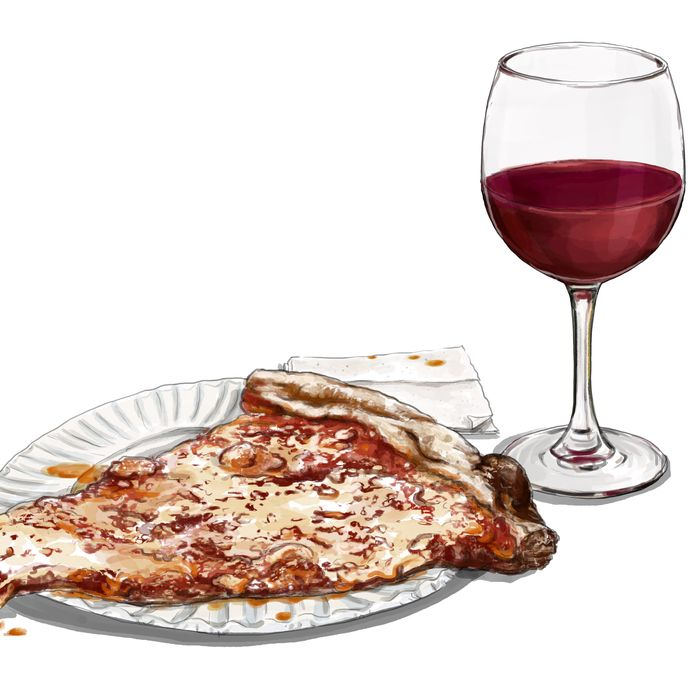 How To Pair Wine With 99 Cent Pizza