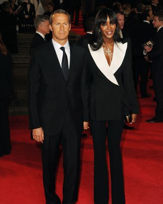 Vladislav Doronin and Naomi Campbell.