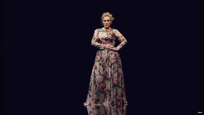 "Adele in ""Send My Love (To Your New Lover)."""